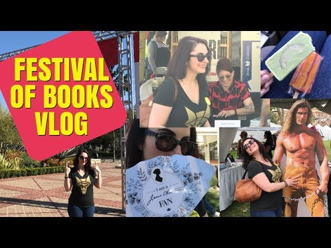 The Naughty Librarian: LA Times Festival of Books Vlog!