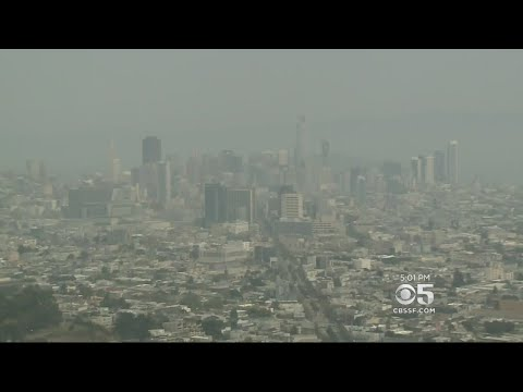 SMOGGY AIR: Heat and smoke leads to poor Bay Area air quality