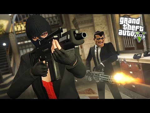 GTA 5 HEIST - BIGGEST BANK ROBBERY!! (Final Heist)