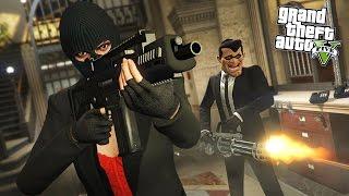 GTA 5 HEIST - BIGGEST BANK ROBBERY!! (Final Heist)