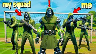 Fortnite Squads Except we Protect DOCTOR DOOM