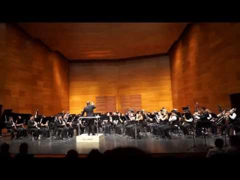 David Maslanka, Give Us This Day (Saratoga High School Symphonic Wind Ensemble)