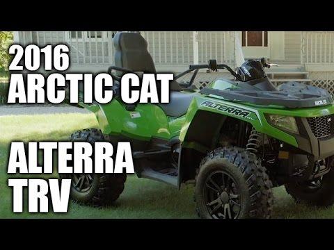 TEST RIDE: 2016 Arctic Cat Alterra TRV