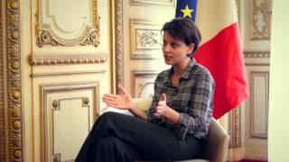 Maman travaille rencontre Najat Vallaud-Belkacem Ministre des Droits des Femmes #1 Congé parental