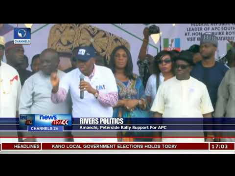 Amaechi, Peterside Rally Support For APC In Rivers  State