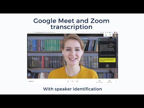 Transcribe Google Meet Calls with Tactiq