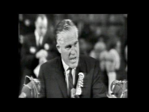 George Romney addresses 1964 Republican convention