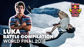 Luka Battle Compilation | Red Bull BC One World Final 2018