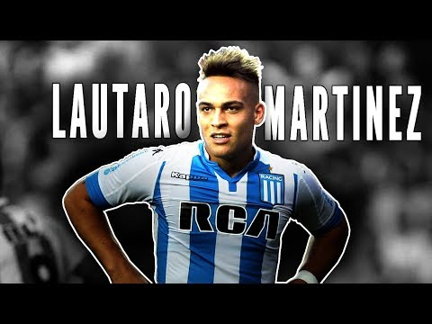 Lautaro Martinez - GOAL MACHINE!! - Racing Club 2018