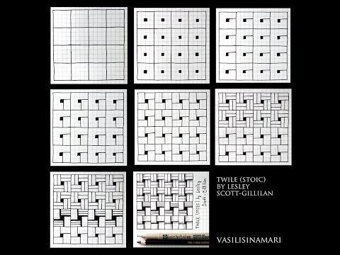 VASILISINAMARI zentangle tutorial