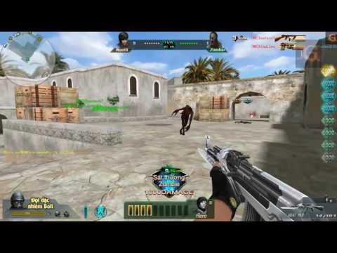 [Truy kich] AK 47 VIP cận chiến zombie max phê Blood Strike AK47 Honra vs Zumbi