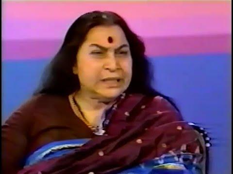 1983-0922 Shri Mataji, Houston Live, TV Interview, version 1