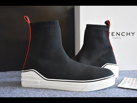 16f013ae4ca5b Givenchy George V Mid Sock Sneaker Lyst Detaild Review - YouTube