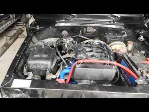 Москвич 412с 16 клапанным мотором от 2112!!!