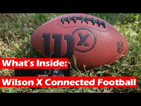What's Inside a Wilson X Connected Football?