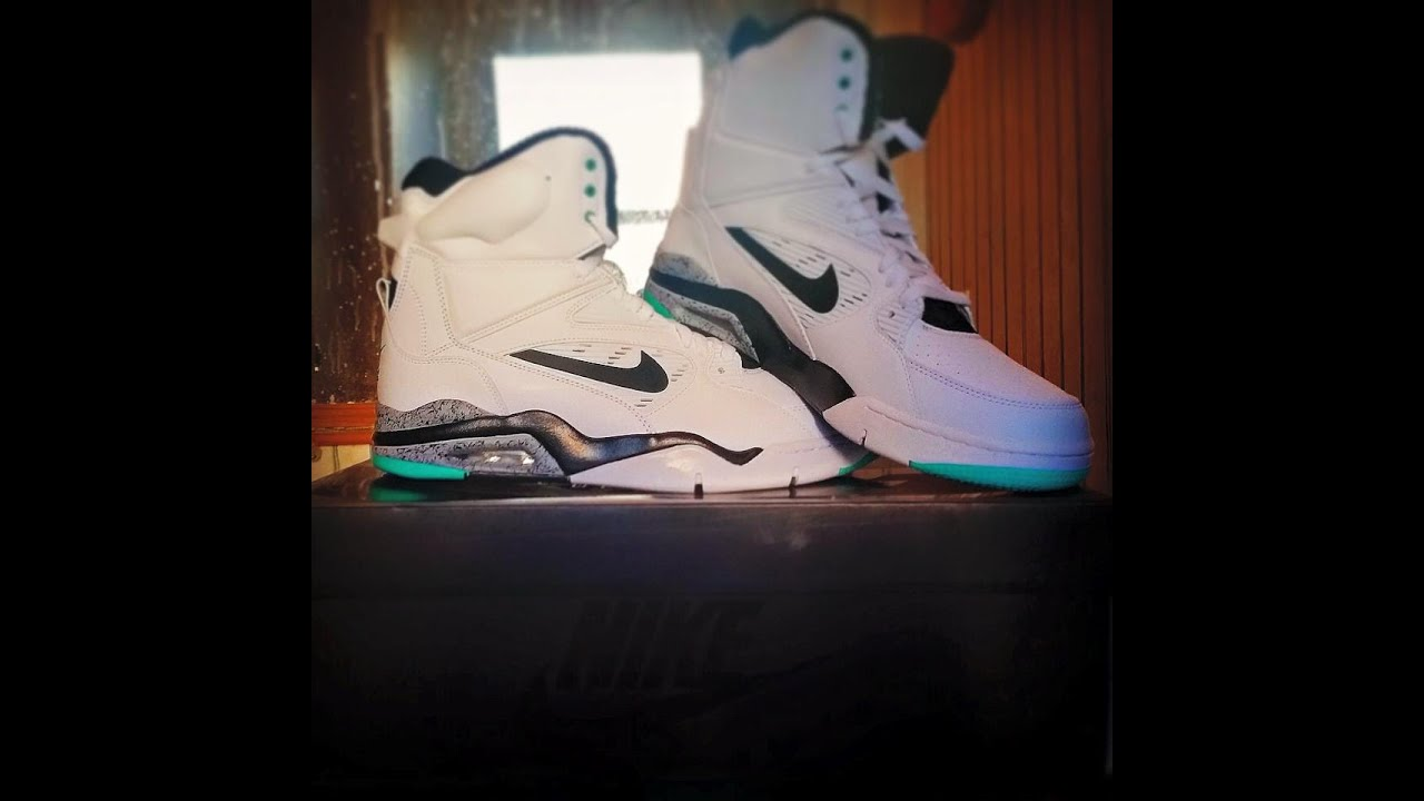 eb52f597558d75 Nike Air Command Force Hyper Jade Review - YouTube