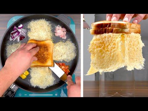 faites-frire-des-toasts-à-la-poêle-et-obtenez-le-meilleur-sandwich-du-monde