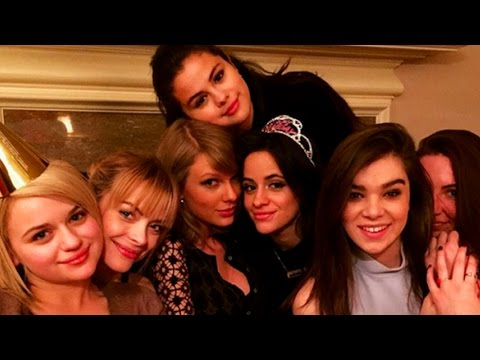 Taylor Swift & Selena Gomez Sing Camila Cabello Happy Birthday!