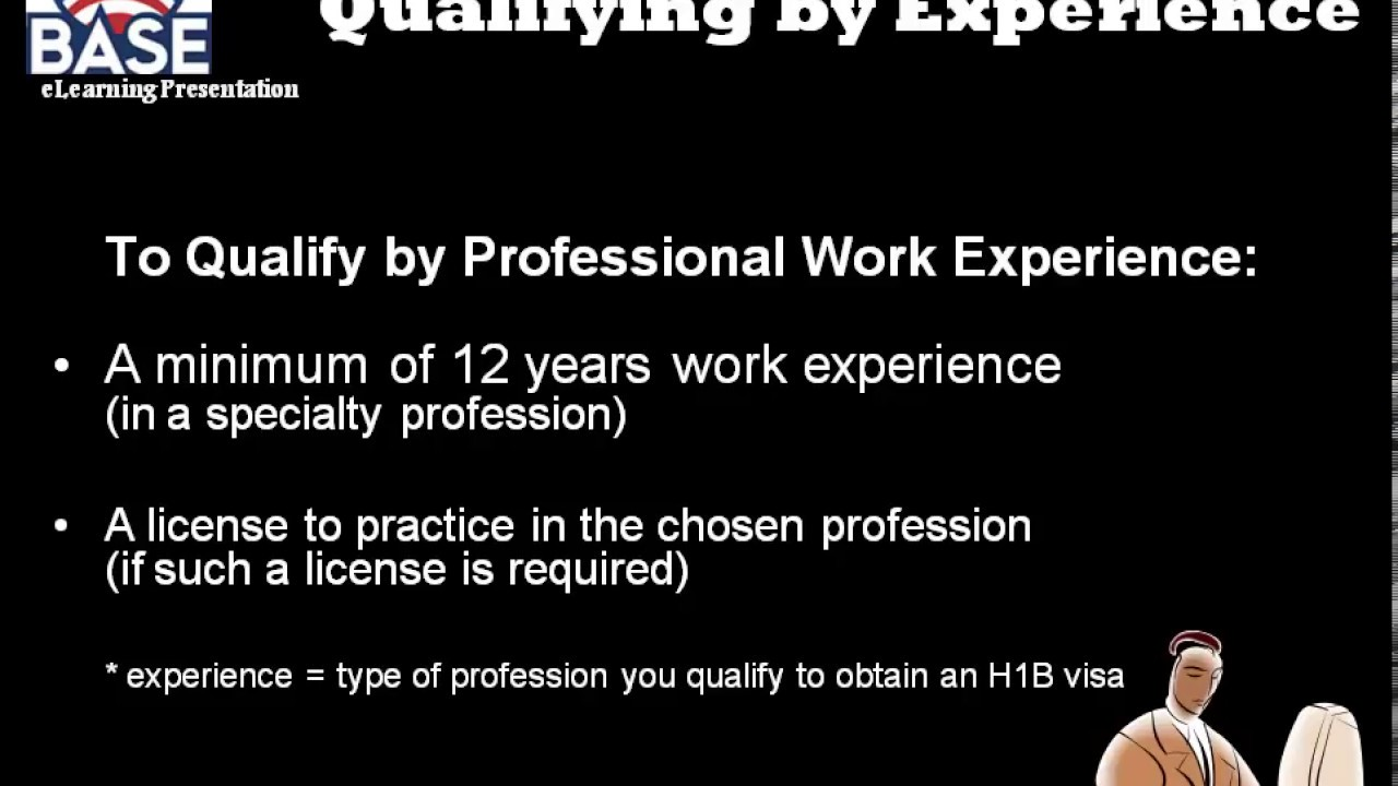 H1B Visa Requirements | Official H1B Qualification and Eligibility