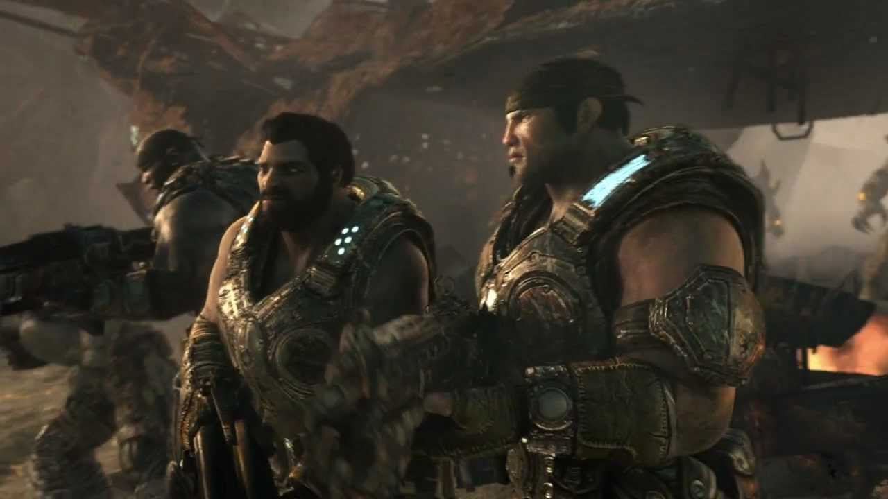 "Gears Of War 3 ""Dust To Dust"" Official Trailer"