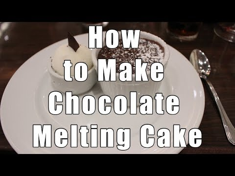 How To Make Carnival's Famous Chocolate Melting Cake Step By Step!
