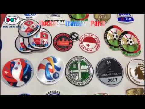 Flocked Heat Transfer Patches | Custom Logo Services | Clothes Accessories Manufacturer - DOYLabel