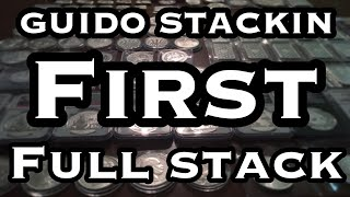 FIRST FULL STACK VIDEO! 223oz SILVER GOLD COINS AND MORE!