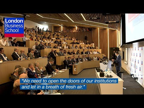 Greek Prime Minister Alexis Tsipras | London Business School