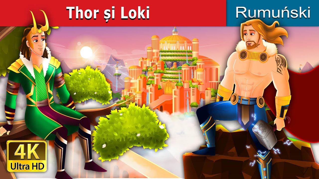 Thor și Loki | Thor and Loki in Romanian | Romanian Fairy Tales