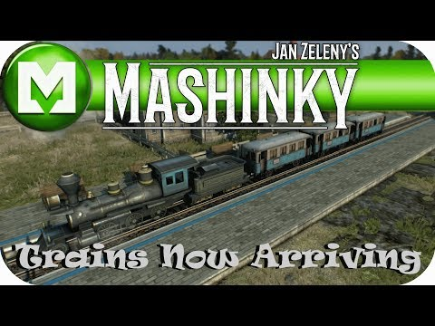 First Look at MASHINKY ALPHA new Train Management sim title from Jan Zeleny, Lets play MASHINKY