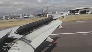 Beautiful Landing At London Heathrow From Oslo Gardermoen Airport