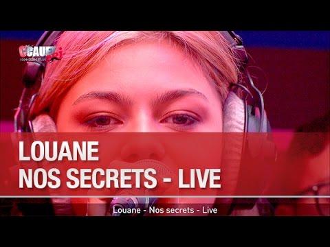Louane - Nos Secrets - Live - C'Cauet sur NRJ - YouTube