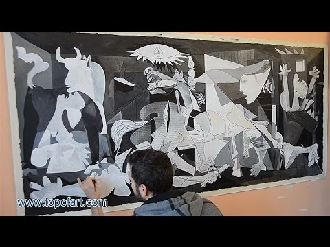 synthesis of guernica oil painting His book is divided into the sections 'analysis', 'synthesis' and  he says the artist named the painting guernica because it was topical at the.