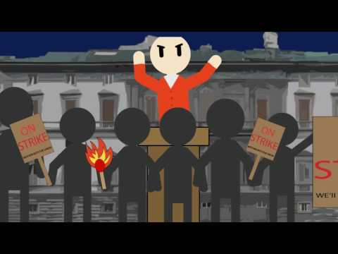 Haymarket Massacre Animation
