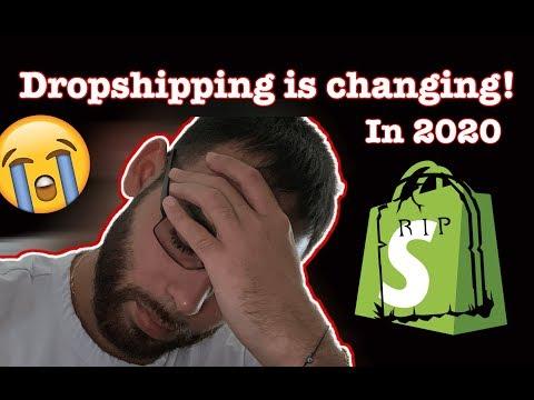 Dropshipping Will NEVER Be The Same! | Shopify Dropshipping 2019/2020 thumbnail