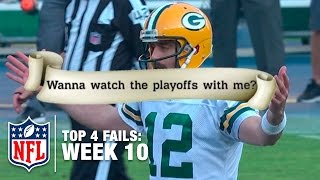 Top 4 Fails (Week 10) | Shek Report | NFL