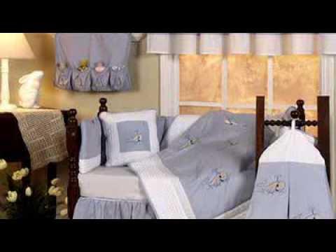 9 Piece Blue Whales Theme Crib Set By HC 50% Off Sale