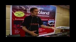 Roland E-A7 Demo in Mumbai 2015