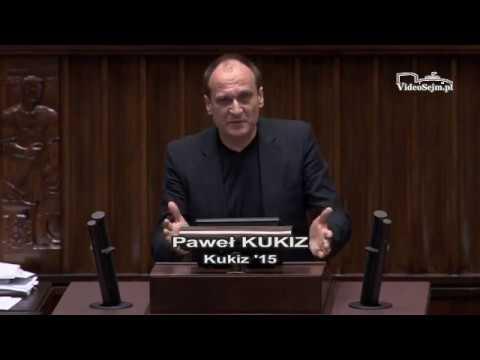 Paweł Kukiz – wystąpienie z 8 grudnia 2017 r.