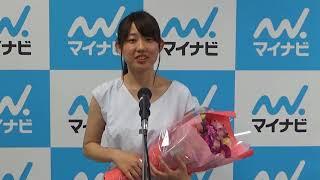 第12期マイナビ女子オープンチャレンジマッチで見事勝ち抜いた脇田菜々子アマの勝利者インタビューです。