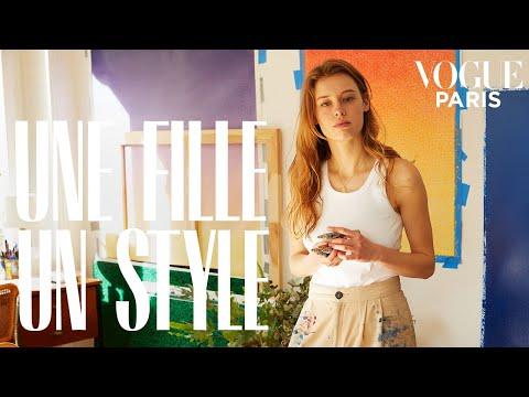 Inside Cyrielle Gulacsy&39;s Parisian apartment  Une Fille Un Style  Vogue Paris