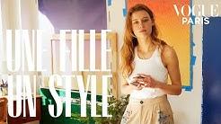 Inside Cyrielle Gulacsy's Parisian apartment | Une Fille, Un Style | Vogue Paris
