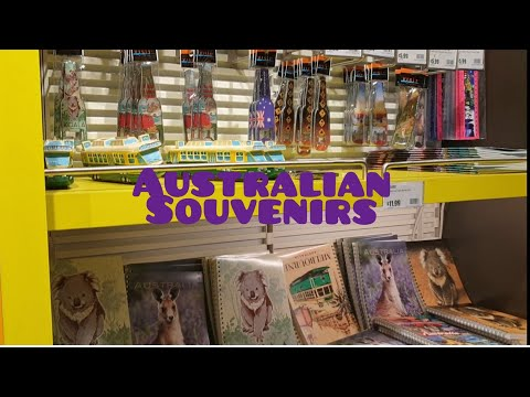 Buying Australian Souvenirs