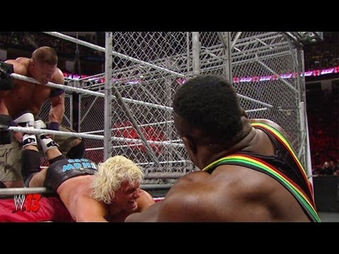 WWE RAW 01/14/2013 John Cena vs Dolph Ziggler Steel Cage Match ( Review WWE '13 ) Travel Video