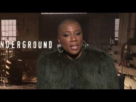 Aisha Hinds & Anthony Hemmingway Interview: UNDERGROUND