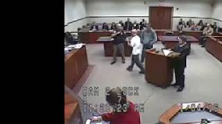 Black Judge Gives A Racist Neanderthal Due Process For Calling Him The N Word!
