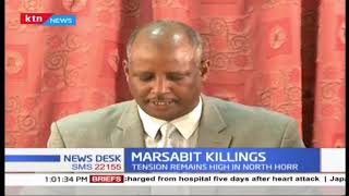 Section of Marsabit leaders deny recent killings are triggered by hate among communities