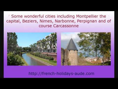 Languedoc-Roussillon for a Holiday in France