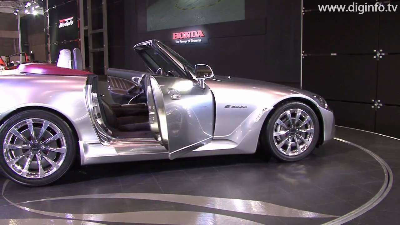 hight resolution of honda sports modulo s2000 concept diginfo hd
