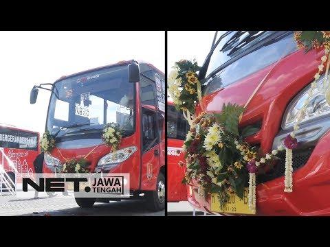Yuk Coba Rute Baru BRT Trans Semarang Koridor 7  NET JATENG